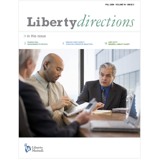 Liberty Directions Magazine Cover