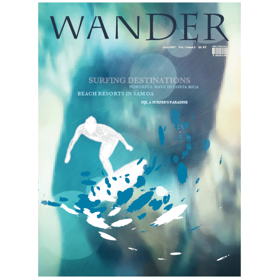 Wander Magazine Cover