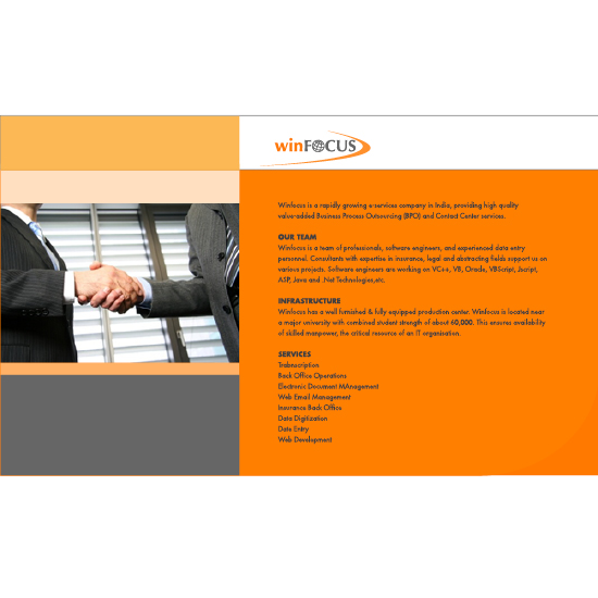 WinFocus Marketing Offer