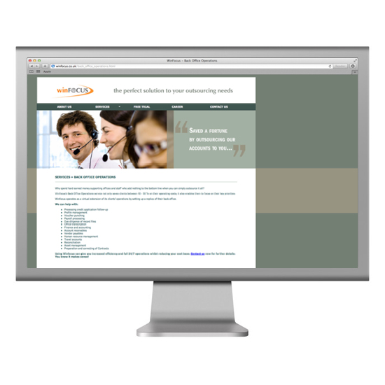 WinFocus Website